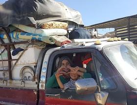 بازگشت آوارگان سوریه از لبنان