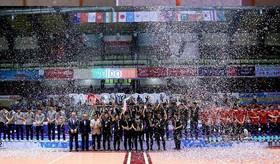 پایان مسابقات والیبال نوجوانان آسیا .