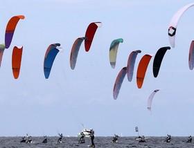 مسابقات قهرمانی کایت اروپا در ساحل اورمئومند، شمال شرقی آلمان
