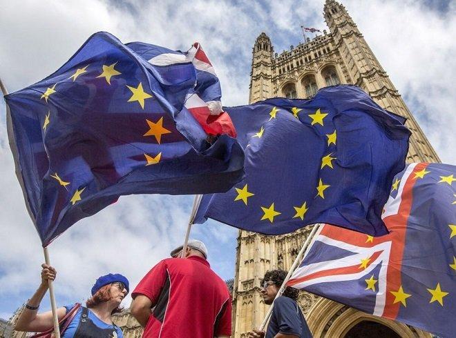 اعتراض انگلیسیها به خروج کشورشان از اتحادیه اروپا.