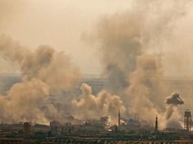 حملات هوایی اسرائیل به جنوب شرقی سوریه