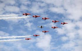 نمایشگاه بینالمللی هوایی در همپشایر بریتانیا