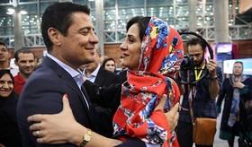 مراسم استقبال از تیم داوری ایران در جام جهانی فوتبال