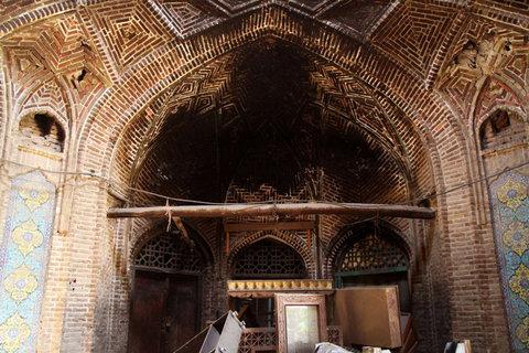 حال و روز پریشان بنایی تاریخی و رو به نابودی