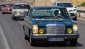 گردهمایی خودروهای کلاسیک در تهران.