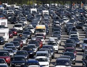 ترافیک سنگین در تعطیلات تابستانی فرانسه