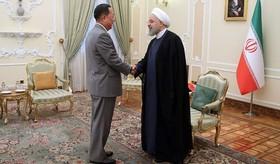 دیدار وزیر خارجه کره شمالی با روحانی.