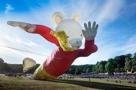 فستیوال مجسمه های بادی در بریستول انگلیس