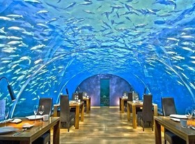 غیر معمولترین رستورانهای جهان +تصاویر