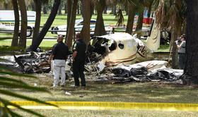 مرگ دو سرنشین در سقوط هواپیمای سبک در ایالت فلوریدا آمریکا