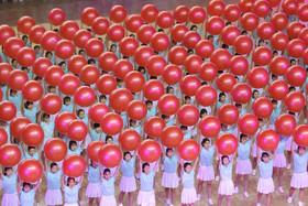 رقابتهای ورزشی اقلیتهای قومی در شهر بینژو چین