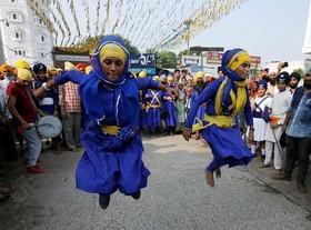 رقابتهای ورزشی اقلیتهای قومی در شهر بینژو چینجشن سالانه سیکها