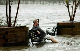 """توفان """"فلورنس"""" در ایالت کارولینای شمالی آمریکا"""