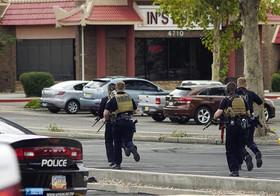 مقابله پلیس آمریکا با یک گروگانگیری در یک رستوران چینی در شهر آلبوکرک ایالت نیومکزیکو آمریکا