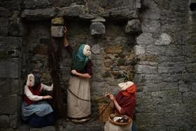 اجرای یک تئاتر خیابانی در ایرلند