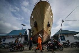 منطقه زلزله و سونامی زده اندونزی