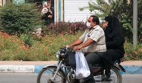 افزایش ریزگردها در آسمان کرمان