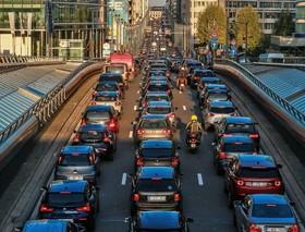 ترافیک سنگین صبحگاهی در بروکسل