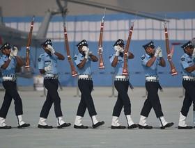 رژه نیروی هوایی هند در دهلی نو