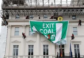 فعالان صلح سبز در لندن