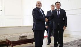 دیدار ظریف با سفیر جدید آفریقای جنوبی «ویکامازوی کومالو» و ولادیمیر نوروف» رییس موسسه استراتژیک ازبکستان