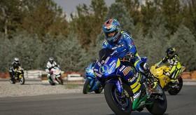 مسابقه موتورسواری سرعت پلیس