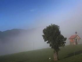 نمایی از هوای صبحگاهی در جنوب آلمان