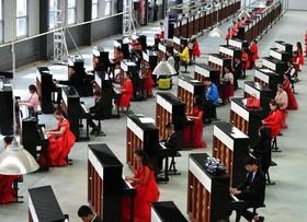 مسابقات کودکان پیانیست چینی