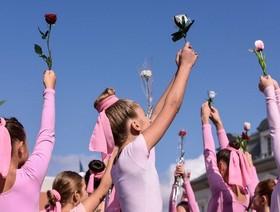 روز آگاهی از بیماری سرطان سینه در کوزوو