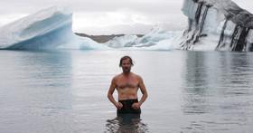 قدرت فوق انسانی مرد یخی