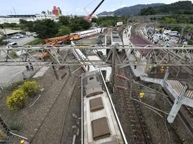 هجده کشته در خروج قطار از ریل در تایوان