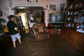 صدمات توفان
