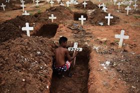 """گورستان """"گاجو"""" در شمال شهر ریودوژانیرو برزیل در روز """"مردگان"""""""