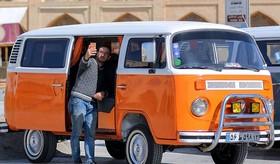 نمایشگاه خودروهای کلاسیک در اصفهان