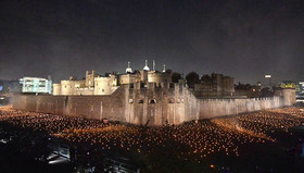 مراسم یکصدمین سالگرد پایان جنگ اول جهانی در لندن