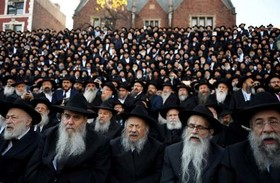 گردهمایی سالانه یهودیان حسیدی در نیویورک