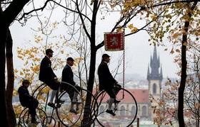 مسابقه سالانه دوچرخه سواری در پراگ، جمهوری چک