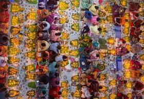 جشن هندوها در معبد هکا، بنگلادش