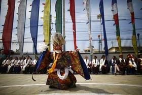 جشنواره ای آیینی در کاتماندو نپال