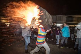 جشنواره آتشبازی در بریتانیا
