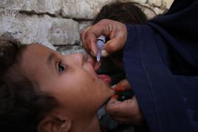 واکسیناسیون فلج اطفال در جلالآباد افغانستان