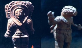 این عکس ها ارتباط باستانیان با آدم فضایی ها را اثبات می کند؟!