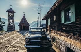 روستای سنتی صربستان که برای فیلم برداری طراحی شد