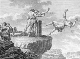 صخره مجازات خیانت کاران رومی