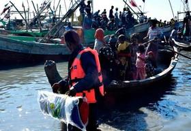 بازگرداندن حدود 100 پناهجوی مسلمان میانماری عازم مالزی به استان راخین میانمار