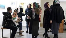 """نمایشگاه نقاشیهای """"مریم حیدرزاده"""" در گالری مژده"""