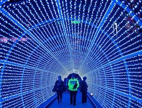 چشنواره نورپردازی در هنگکنگ