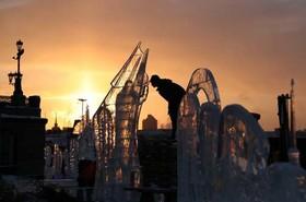 جشنواره سازههای یخی در روسیه