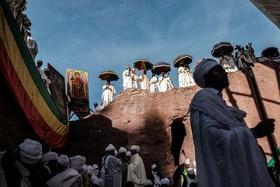 جشن میلااد مسیح در بین مسیحیان ارتدوکس اتیوپی