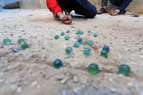 """""""تیلهبازی"""" نوجوانان فلسطینی در باریکه غزه"""